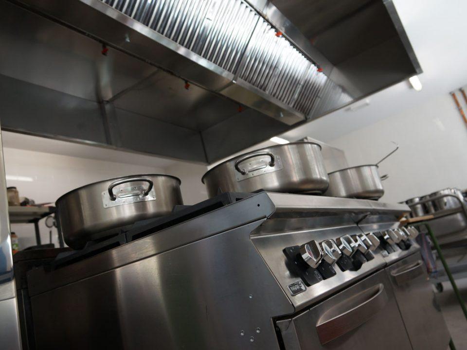 Diferencias entre una cocina industrial y una doméstica